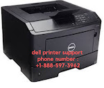 Dell Printer Support Phone Number  1-888-597-3962