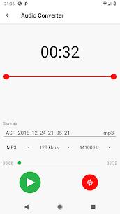 Gravador grátis de áudio MP3 ASR [Pro Unlocked] 8