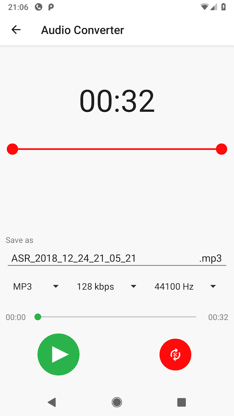 MP3 Voice and Audio Recorder - ASR Screenshot 7