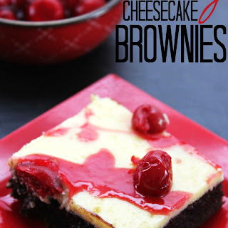 Cherry Cheesecake Brownies.