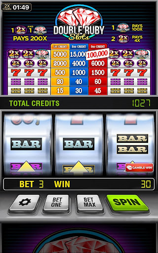 Double Ruby Free Slot Machine