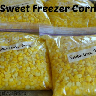Sweet Freezer Corn.