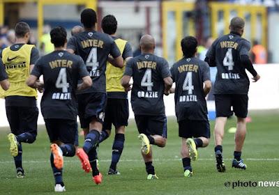 Het rugnummer vier zal nooit meer gebruikt worden bij Inter!