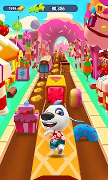 Talking Tom Corrida Do Ouro APK screenshot thumbnail 5