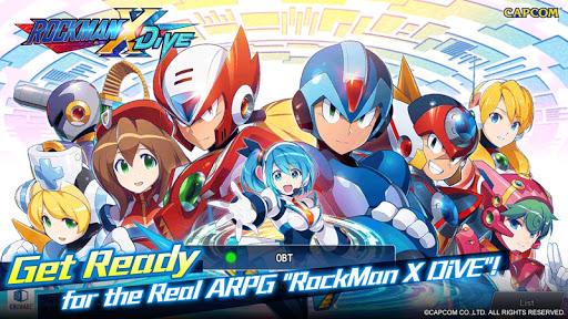 ROCKMAN X DiVE 1.6.1 apktcs 1