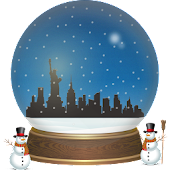 New York Snow Globe + Live Wallpaper
