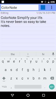ColorNote Notepad Notes screenshot 02