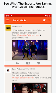 Movie News, Videos, & Social Media App Download For Android 4