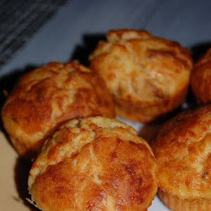 Dried Tomato and Comte Cheese Muffins
