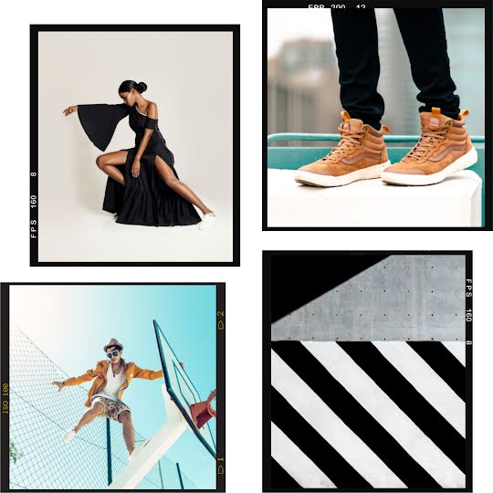 Fashion Collage Frame - Instagram Post Template