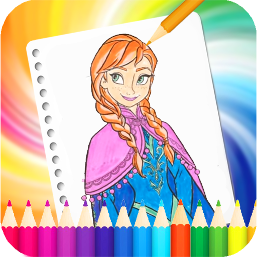 Coloring Barbie Pages