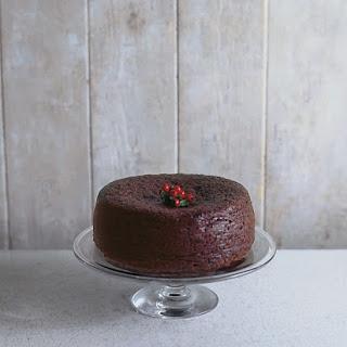 Chocolate Fruit Cake.