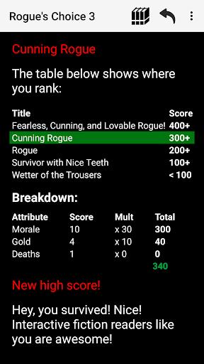 Rogue's Choice: Choices Game RPG apktram screenshots 4
