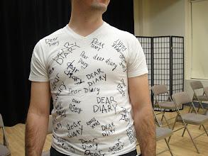 """Photo: """"Dear Diary"""" a Performance Fundraiser on November 5, 2011"""