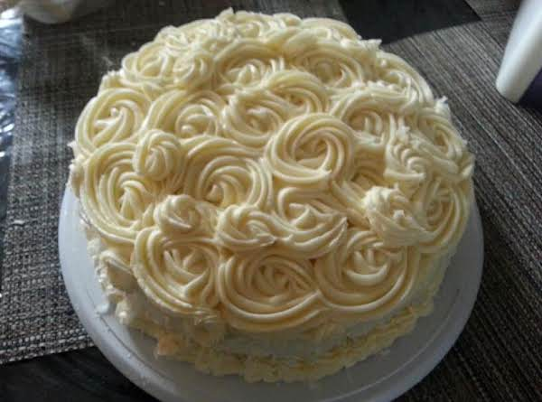 This Is One Of My Cakes I Made With This Swiss Buttercream.