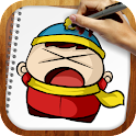 Draw South Park icon