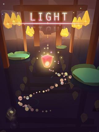 Light !– captură de ecran