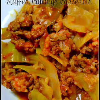Low Carb Stuffed Cabbage Casserole.