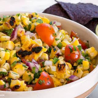 Grilled Corn Salsa.