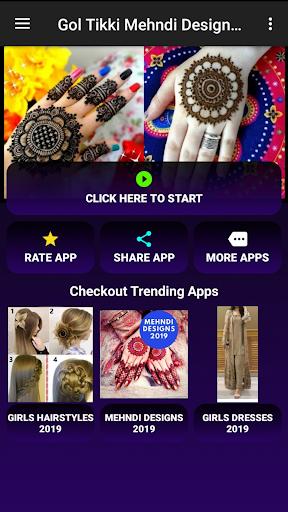 Gol Tikki Mehndi Designs 2020 (Offline) 2.1 screenshots 1