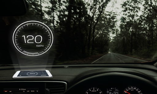 Speedometer: Car Heads Up Display GPS Odometer App 2.5 screenshots 8