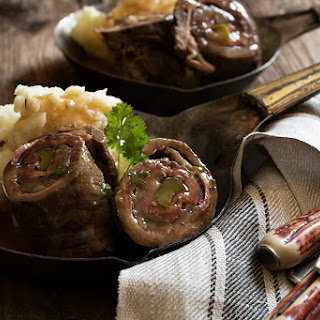 German Beef Rouladen.