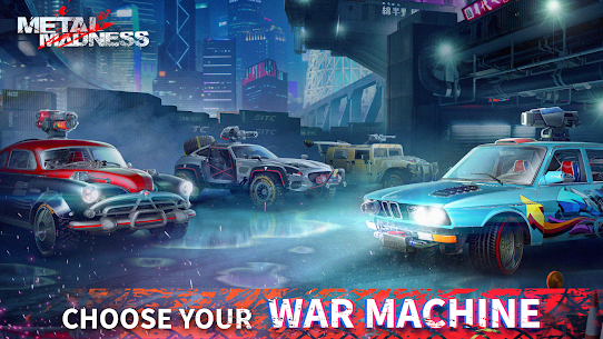 METAL MADNESS PvP: Car Shooter & Twisted Action MOD (Damage) 4