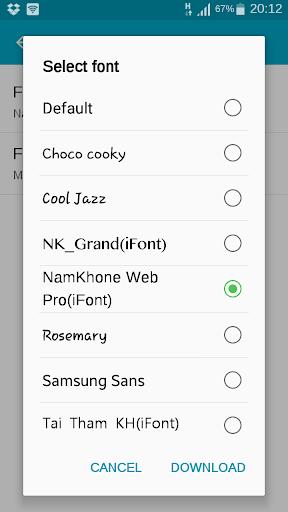 Namkhone Web Pro ifont