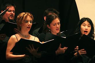 Photo: Dec. 2006: Sacred Music from Italy & Germany. St. John's Episcopal Church; Lyndsey Woods, Laurie Hayner, Dora Kim, Tim Galloway.