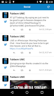 Fairborn UMC screenshot 2