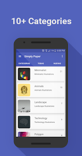 SimplyPaper - Wallpapers- screenshot thumbnail