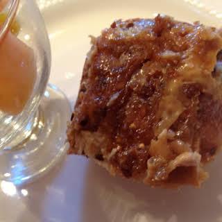 Creme Caramel French Toast.