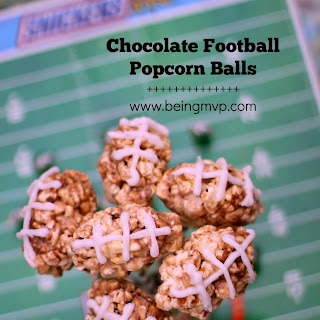 ... ? SNICKERS® Football Popcorn Balls {Recipe} #Chocolate4TheWin #shop