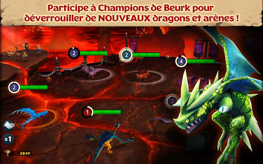 Dragons : L'Envol de Beurk APK MOD – ressources Illimitées (Astuce) screenshots hack proof 2