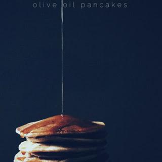 Olive Oil Homemade Pancakes
