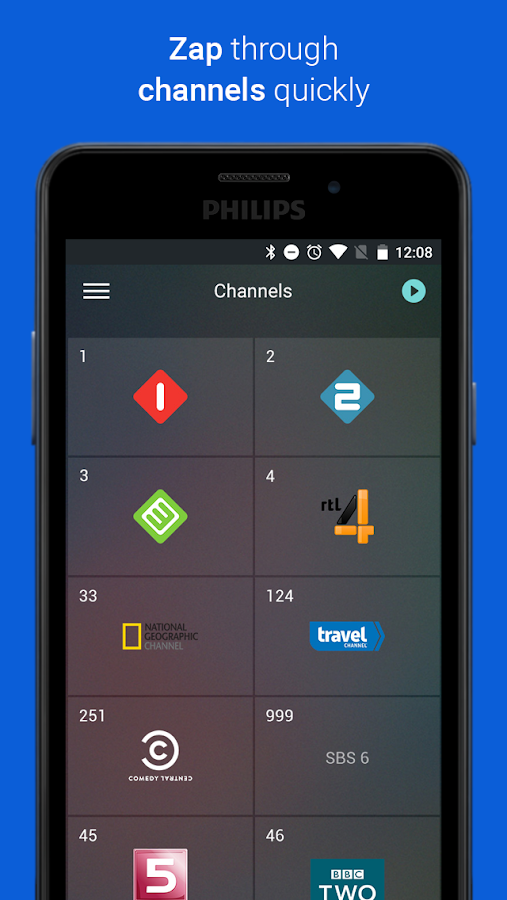 Philips TV Remote App- screenshot