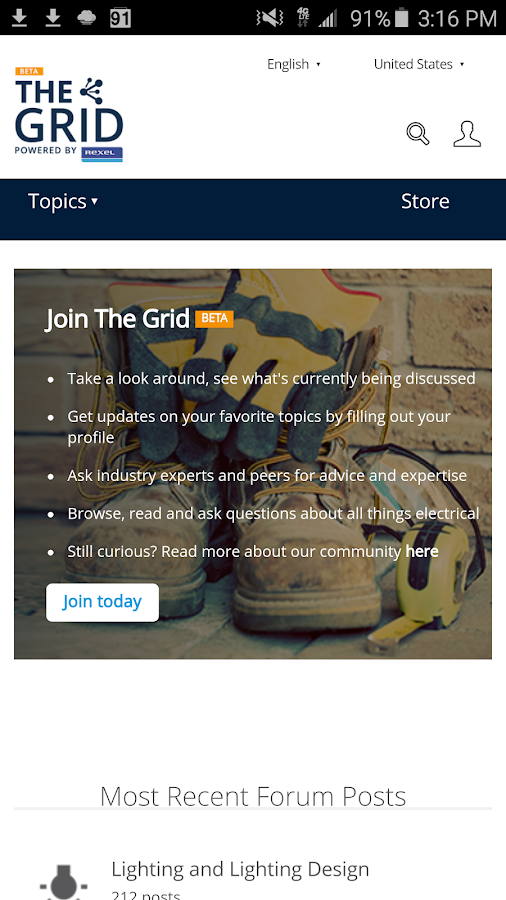 The Grid Powered by Rexel- screenshot
