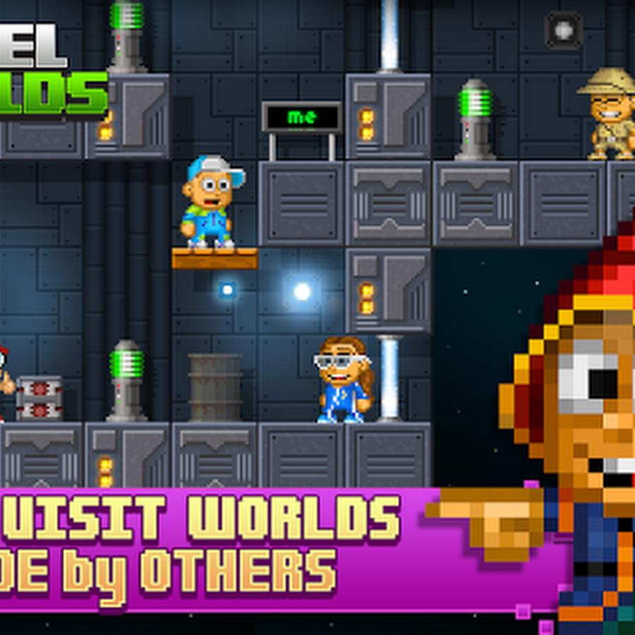Open World Pixel Art Games