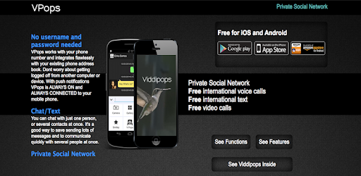 PRIVATE SOCIAL NETWORK, FREE WORLD VIDEO CALLS, FREE WORLD VOICE CALLS