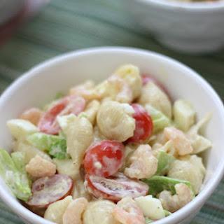 Boiled Shrimp Pasta Salad.