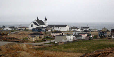 Photo: Tipik Newfoundland balıkçı kasabası