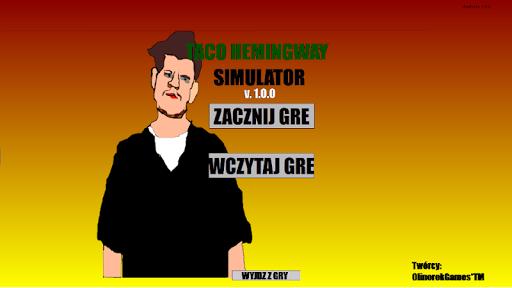 Taco Hemingway Simulator  captures d'écran 2