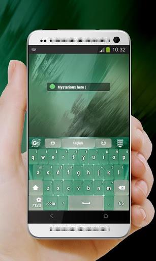 玩個人化App 绿色城市Lǜsè chéngshì GO Keyboard免費 APP試玩