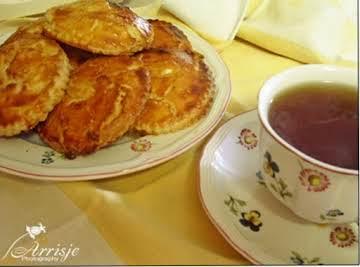 Gevulde Koeken (Almond Paste Cookies)
