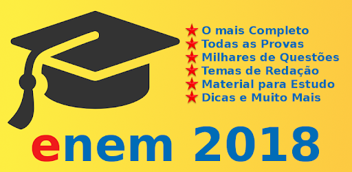 Enem 2018 Simulados e Redação app (apk) free download for Android/PC/Windows screenshot
