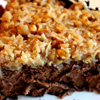 German Chocolate Cheesecake!
