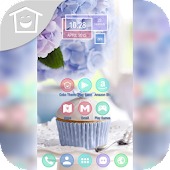 Blooming Flower Cup Cake Theme