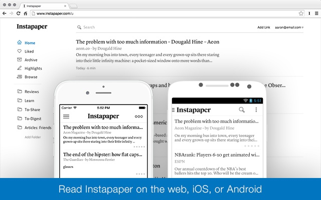Image result for instapaper