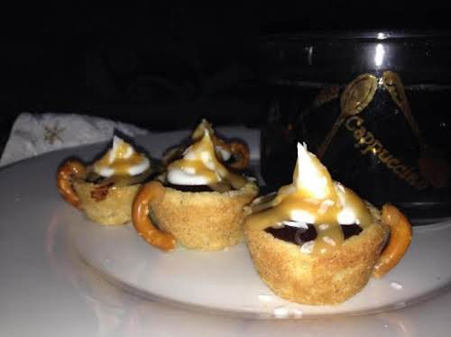 "Gingerbread Mocha Cookie Cups ""This gingerbread cookie recipe has been in my..."