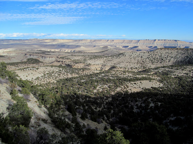 View over South Frank's Canyon